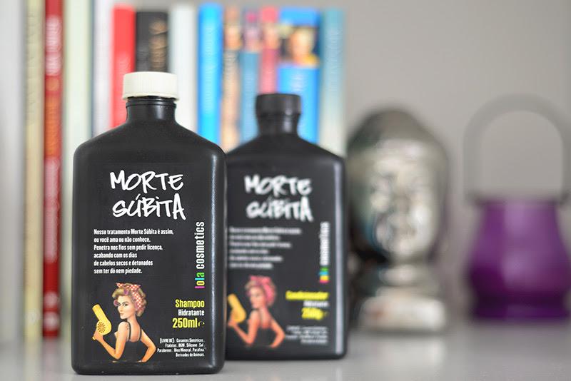 Shampoo Condicionador Morte Súbita da Lola Cosmetics - Resenha Camile Carvalho